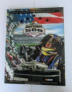 Daytona 500 Program Official Souvenir 2004