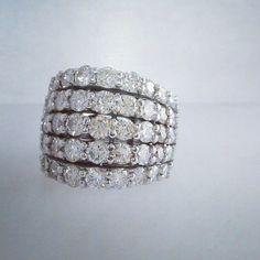 5 row band. photo from last fall #whitegold #diamonds #tw #jewelry #jeweler #jewelerbench #jewelrydesign #justinwellsjewelry #moodysjewelry #matrix7