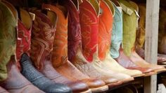 I am really achin' for some faded turquoise cowgirl boots