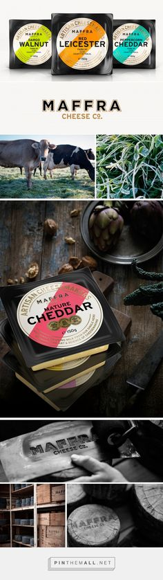 Maffra Cheese — The Dieline - Branding & Packaging Dairy Packaging, Cheese Packaging, Honey Packaging, Cool Packaging, Bottle Packaging, Brand Packaging, Packaging Design, Packaging Ideas, Branding Design