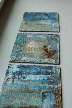 Lisa Call, wax & plaster