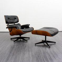 Velvet Point   Charles Eames Lounge Chair, 1960s   Karlsruhe