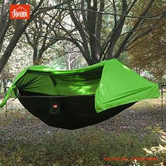 Medium image of patent outdoor camping hammock with mosquito   and hammock bug   with rainfly cover