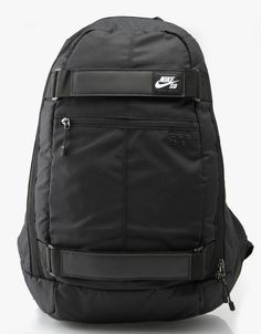 Nike SB Embarca Skatepack - Black/Black (White) - RouteOne.co.uk