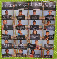 Bits of First Grade: Curriculum Night/Open House Back To School Night, Beginning Of The School Year, First Day Of School, School Daze, Kindergarten Graduation, Kindergarten Classroom, Classroom Ideas, Classroom Displays, Kindergarten Open House Ideas