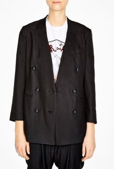 Trompe L'Oeil Double Breasted Jacket by 3.1 Phillip Lim