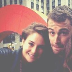 Sheo selfie! They're adorable. ~Divergent~ ~Insurgent~ ~Allegiant~