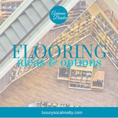 Follow our flooring board for ideas and options hardwood, laminate, stone, concrete, and tile with DIY plans for a farmhouse, modern, or Spanish home curated by San Diego   Joy Bender Luxury Real Estate Agent   Pacific Sotheby's La Jolla Realtor® #REDigitalMarketing #flooring #hardwoodfloor #hardwoodflooring #design