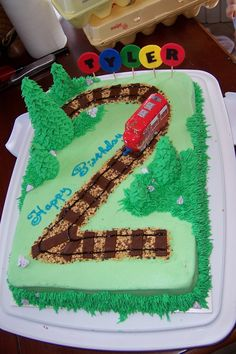 Chuggington Cakes Like This Are Now Available At WalMart Bakeries - Chuggington birthday cake
