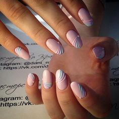 Find images and videos about nails, nail art and manicure on We Heart It - the app to get lost in what you love. Elegant Nails, Stylish Nails, Trendy Nails, Gorgeous Nails, Love Nails, My Nails, Pink Nail Art, Pink Nails, Pretty Nail Art