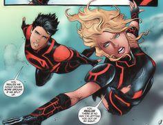 Wonder Girl in Superboy Vol 6 # 10 - Art by Sebastian Fiumara, Richard Horie, & Tanya Horie