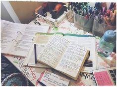 Imagem de study, school, and books