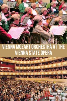 Looking for cultural things to do in Vienna? Seeing a concert is an absolute must! Tap this pin to discover the Vienna Mozart Orchestra performance at the Vienna State Opera in Vienna, Austria. Travel Around Europe, Places In Europe, Orchestra Concerts, Stuff To Do, Things To Do, Vienna State Opera, Austria Travel, Vienna Austria, Get Tickets