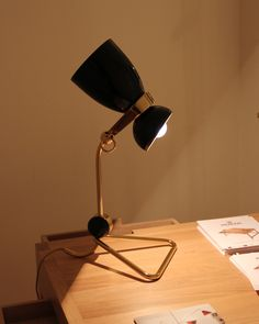 From DelightFULL comes Amy Table, the perfect lamp for every sideboard. Find this new design star at Maison et Objet January, the best furniture fair in Paris http://www.delightfull.eu/en/heritage/table/amy-desk-lamp.php