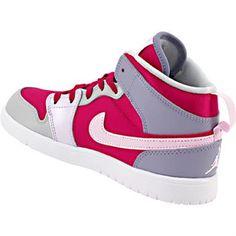 Air Jordan 1 Mid Flex Basketball Shoes - Girls Rogan's Shoes, Jordan 1 Mid, Nike Cortez, Basketball Shoes, Girls Shoes, Air Jordans, Sneakers Nike, Fashion, Nike Tennis