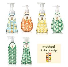 New Spring designs by Orla Kiely for Method.
