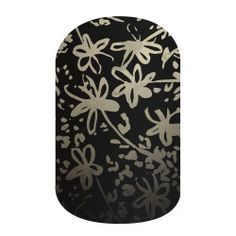 Underground Floral | Jamberry  Created by fashion designer Tracy Reese using a print taken directly from her new collection presented during New York Fashion Week, this matte finish wrap is the perfect pair with 'Urbanite' or 'Smudgy Floral.'  With dark ombre and unique floral patterns, 'Underground Floral' refines what happens when nature meets city life.