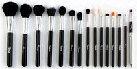 Brand Sixplus Professional 15 Pcs Black Makeup Brushes Set  pincel kit de pinceis de maquiagem Cosmetic make up brush Kit.