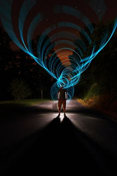 Impressive light painting by Dennis Calvert. Wow I have to try this sometime...