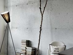 """""""Concrete Wall"""" vinyl wall covering..."""