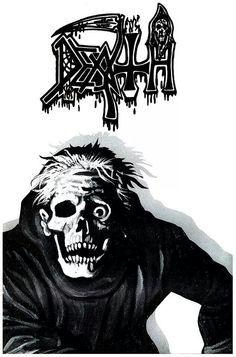 Google+ Heavy Metal Rock, Heavy Metal Bands, Black Metal, Death Metal, Hard Rock, Chuck Schuldiner, Metal Band Logos, Rock Y Metal, Estilo Rock