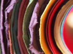 Gorgeous colours take beautifully to gorgeous paper!