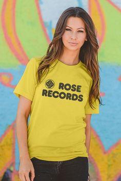 d49fe3df Rose Records t-shirt - Bygone Brand Wardrobe Basics, Branded T Shirts,  Chicago