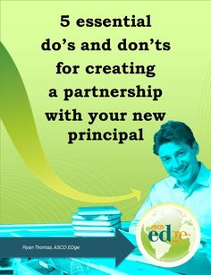 Creating a Successful Partnership with Your New Principal