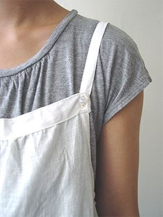 Layered Camisole Pattern. For the t-shirt style