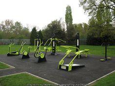 outdoor gym ideas - 1