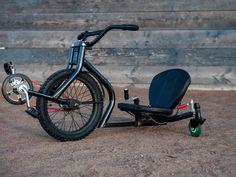 Badass drifting micro trike. ONDA Cycle by Tyler Hadzicki and Joe Hadzicki, via Kickstarter.
