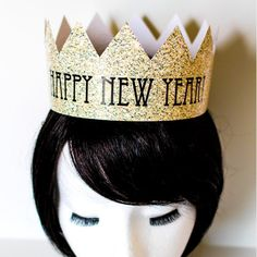 DIY New Years Eve Crowns Two Styles New by CreativeUnionDesign