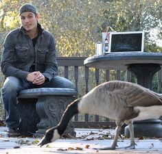 #tbt to that time #SonnyMarler and I encountered the talking goose that turned out to be much than just a typical animal. #spirit #soul #love #connectivity #energy #positivity #lifeisagift