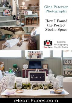 How I Found the Perfect Photography Studio {Gina Petersen Photography} (I Heart Faces) Photography Studio Spaces, Studio Portrait Photography, Face Photography, Inspiring Photography, Studio Portraits, Creative Photography, Photography Studios, Digital Photography, Senior Portraits
