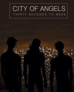 LOST IN THE CITY OF ANGELS...  #MARSart  @Jared Randall LETO  @Shannon Bellanca Leto  @tomofromearth  @Angela Faranda SECONDS TO MARS pic.twitter.com/Hah5ZvK35T