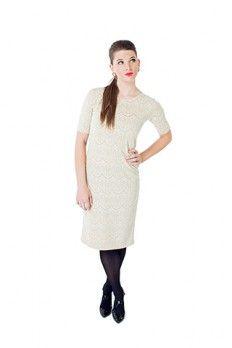 The Sarah Dress  Modest dresses cream lace http://junieblake.com/modest-dresses/modest-dress-sarah.html