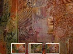 Krachtig schilderen Abstract