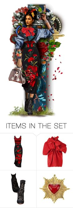 """Miss Kahlo"" by alicja2204 ❤ liked on Polyvore featuring art"