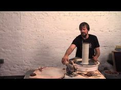 ▶ Pottery Video: Measuring Prints for Specific Forms | FORREST MIDDELTON - YouTube