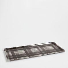 LONG PLATEAU CARREAUX - Plateaux - Table | Zara Home France
