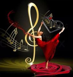 To Dance feel the Music. Music Notes Art, Music Pics, Music Artwork, Music Photo, Music Stuff, Sound Of Music, Kinds Of Music, Music Love, Music Is Life