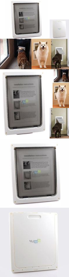 Doors and Flaps 116379: Lockable Dog Cat Pet Frame Flap Door 17X14/13X11 X Xl Magnetic BUY IT NOW ONLY: $38.9