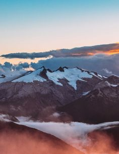 Perfect high mountain landscape photo