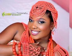 coral beads for traditional wedding - Google Search