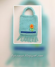 Tunisian Crochet Bag
