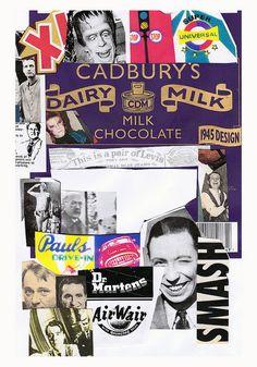 Pop Culture Latest collage for Michael's Kollage Kit blog. www.kollagekit.blogspot.co.uk