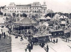 Glorieta de Atocha (Plaza del Emperador Carlos V), 1920 - Portal Fuenterrebollo