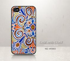iPhone 5 Case, iPhone 4 Case, iPhone 5C Case, iPhone 5S Case, Phone Cases, iPhone Case, Colorful Floral, Case for iPhone - 4F0003 on Etsy, $5.99