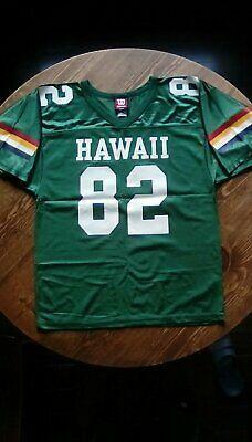 Hawaii Rainbows Warriors Football Jersey Fashion Clothing Shoes Accessories Men Mensclothing Ebay Link Em 2020
