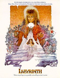 LABYRINTH!! (with the original movie poster)